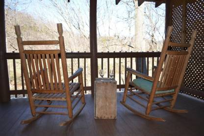 River trail cabin rocking chairs