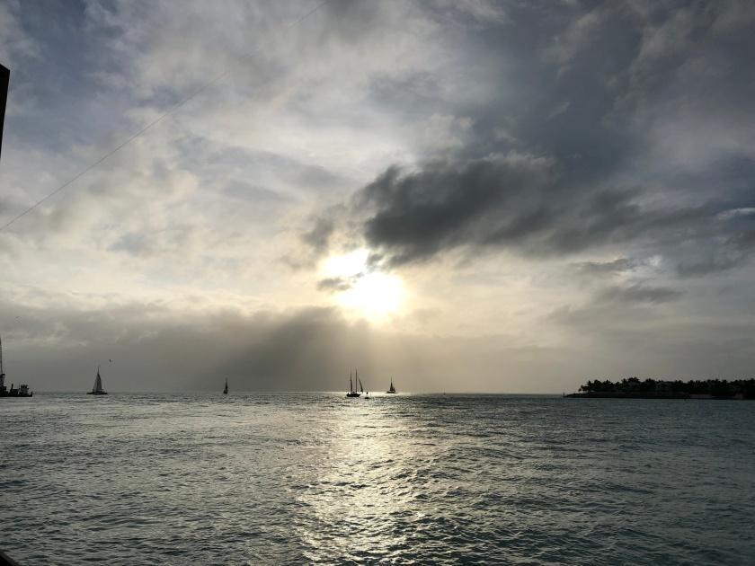 key west sunset pier