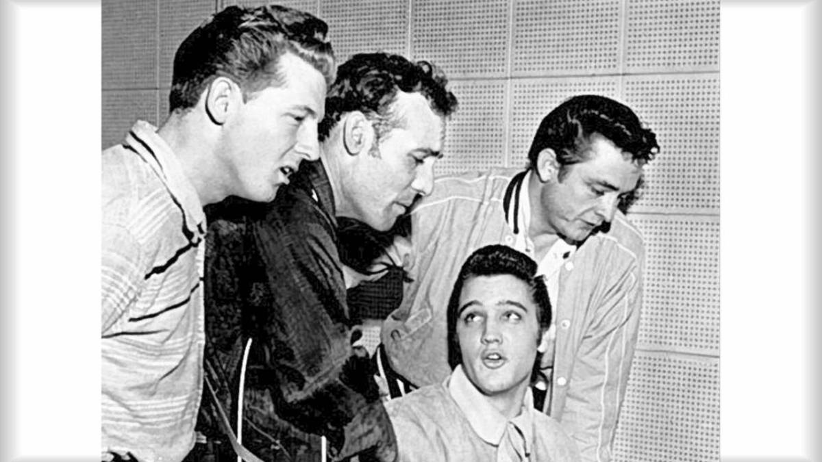 The Ten Million Dollar Quartet
